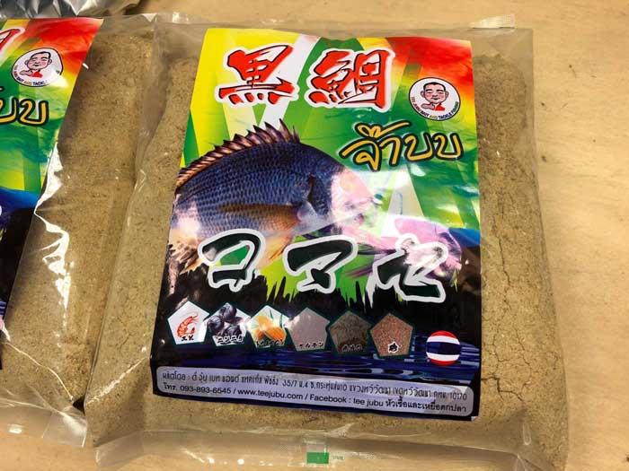 タイ王国 配合エサ チヌ コマセ