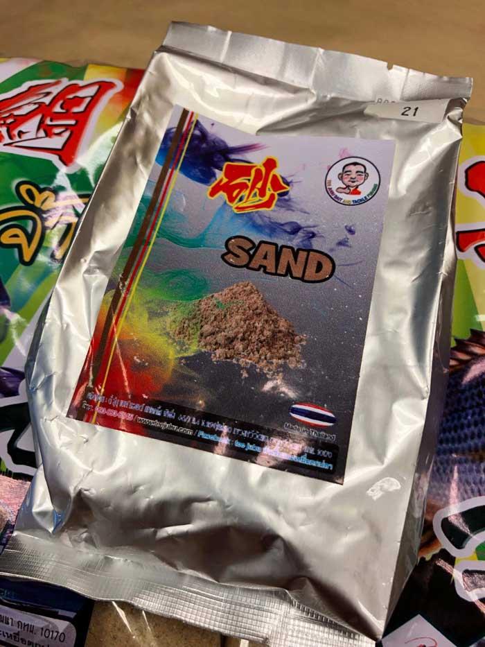 タイ王国 配合エサ チヌ コマセ 砂