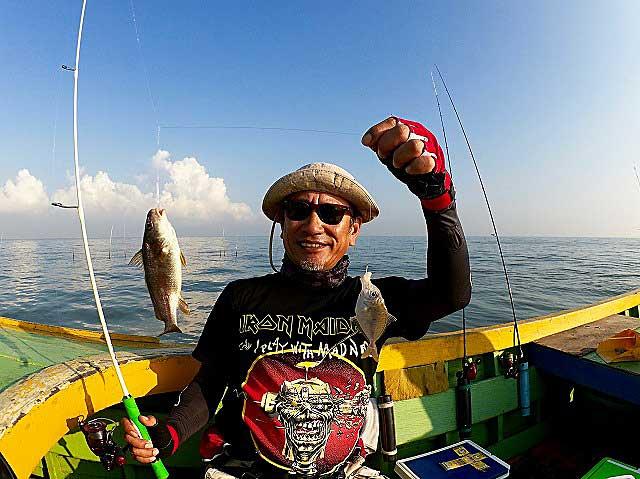 ヒイラギ 釣り タイランド バンサイ
